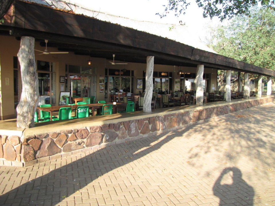 Restaurant im Camp Letaba Rest Camp