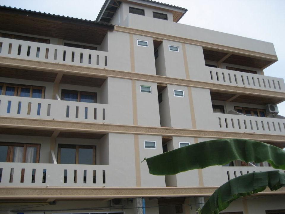 Das Guest-House von der Seite Pott Guest-House