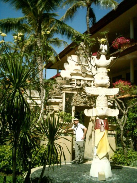 Tropischer Garten The Tanjung Benoa Beach Resort Bali