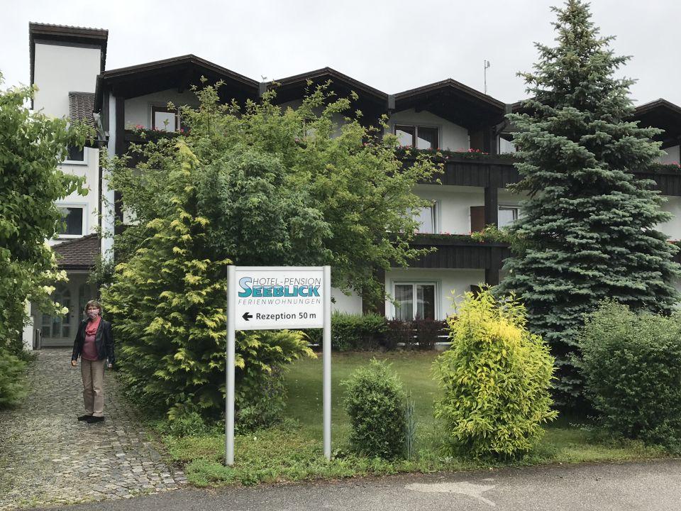 Außenansicht Hotel Seeblick