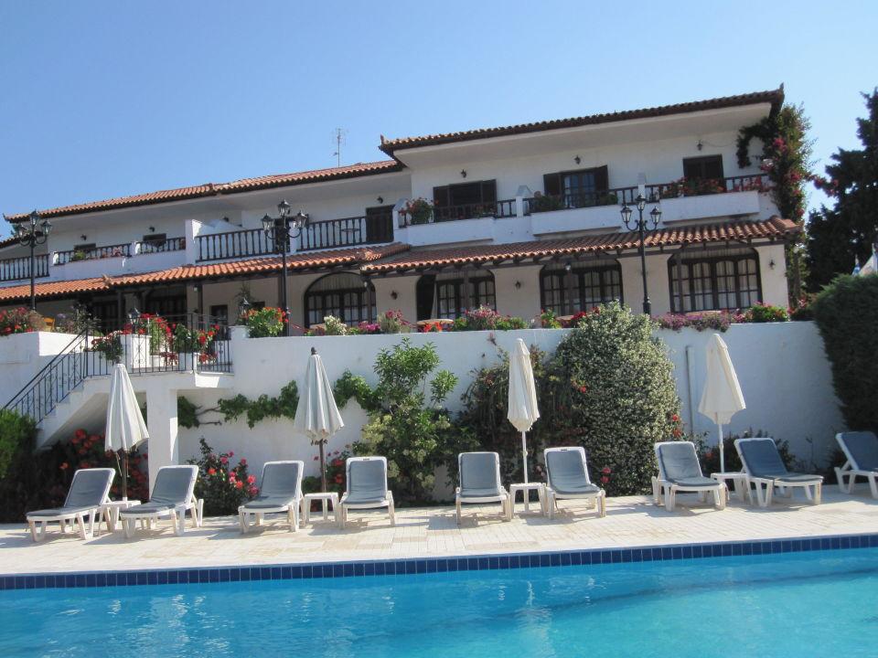 Morgens Am Pool Hotel Paradise Skiathos Holidaycheck Kleine