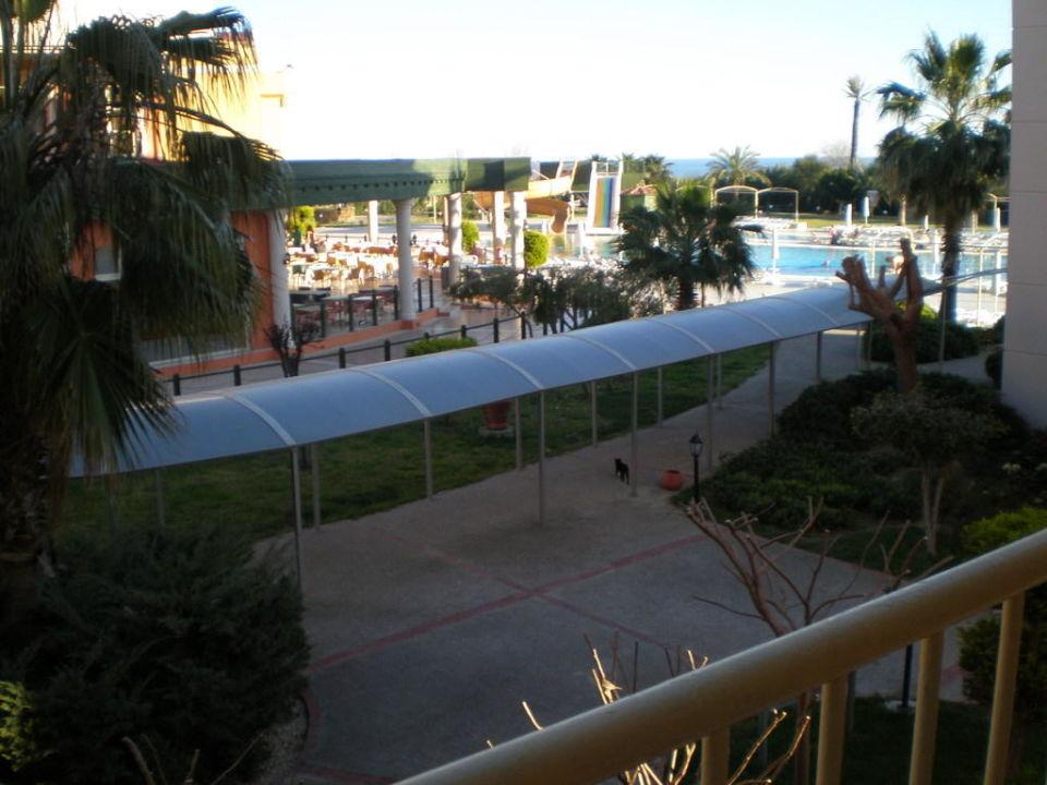 Ausblick vom Balkon Side Star Resort