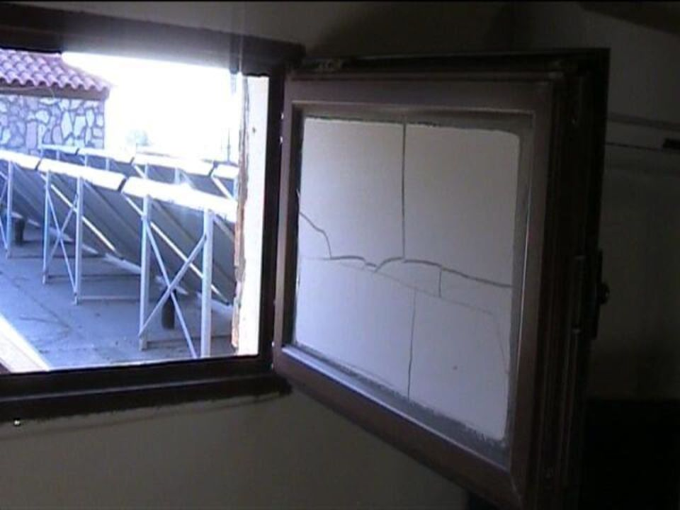Dachlukenfenster Im Schlafzimmer Offen Hotel Costa Lindia Beach