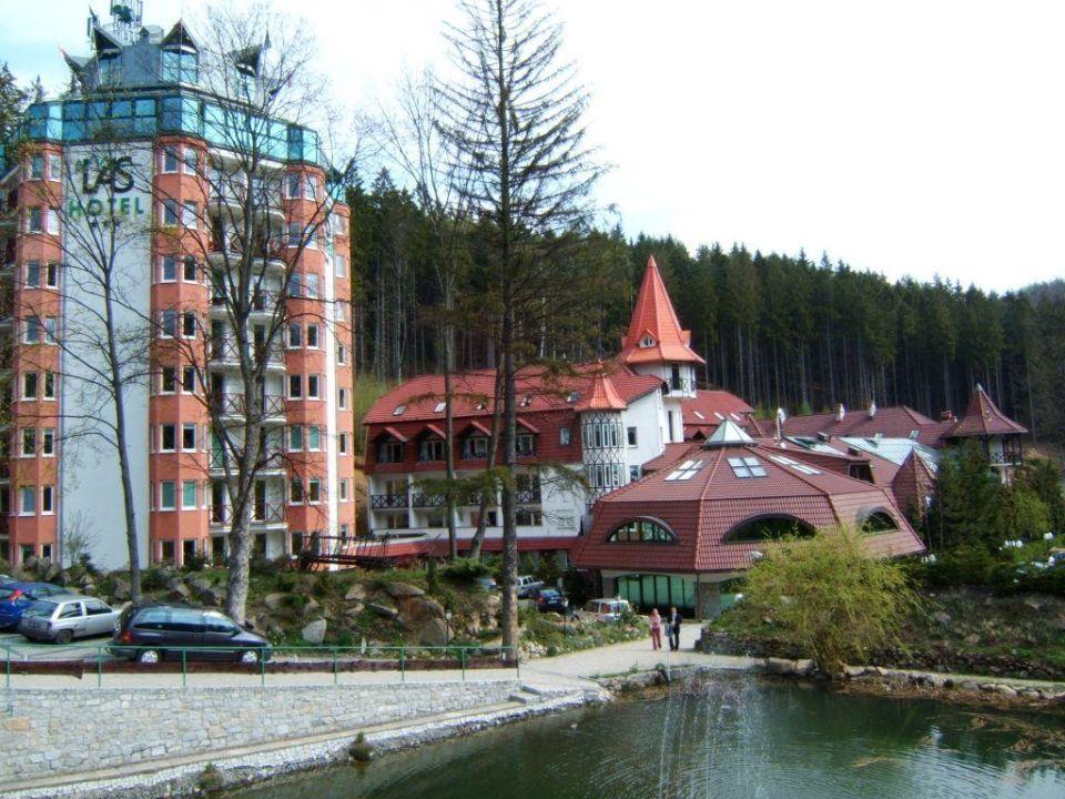 Hotel Las, Außenansicht Hotel Las