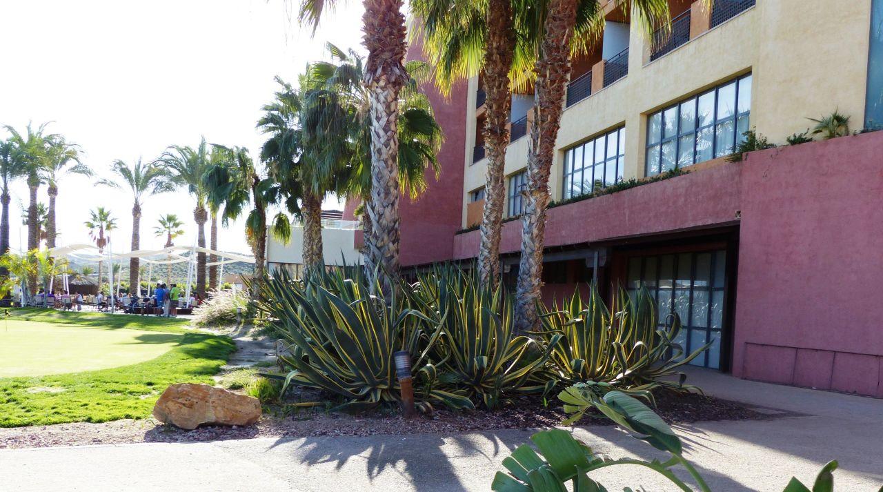 Die Rückseite Hotel Valle del Este Golf Spa