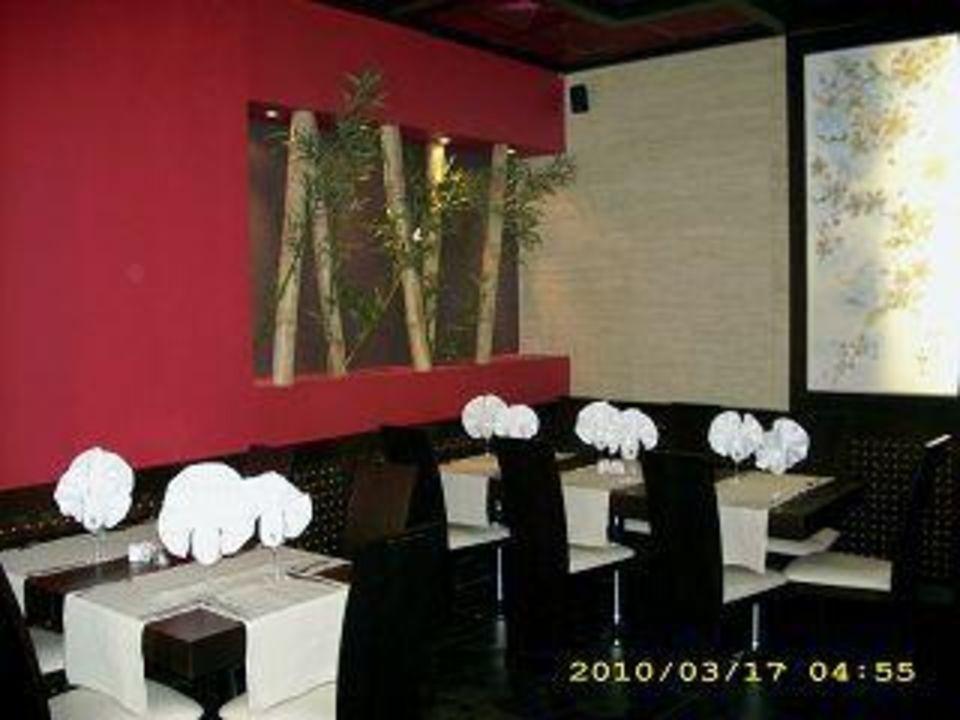 Blick in das chinesische Restaurant Hotel Grifid Arabella