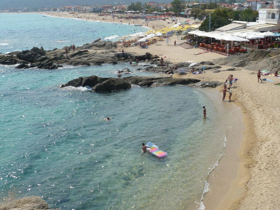 Der Strand ist in nur 3 Gehmin. zu erreichen Villa Anesa
