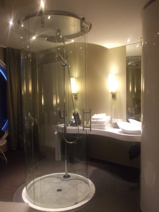 die dusche fletcher hotel amsterdam - Hotel Amsterdam Dusche Im Zimmer