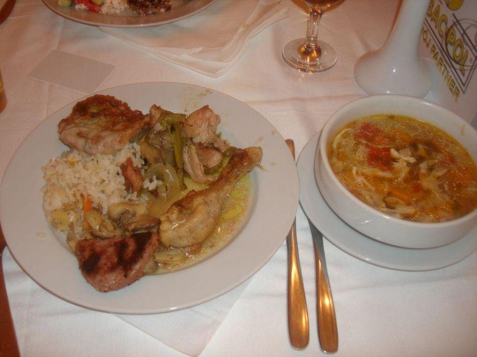 Obiad HVD Clubhotel Miramar