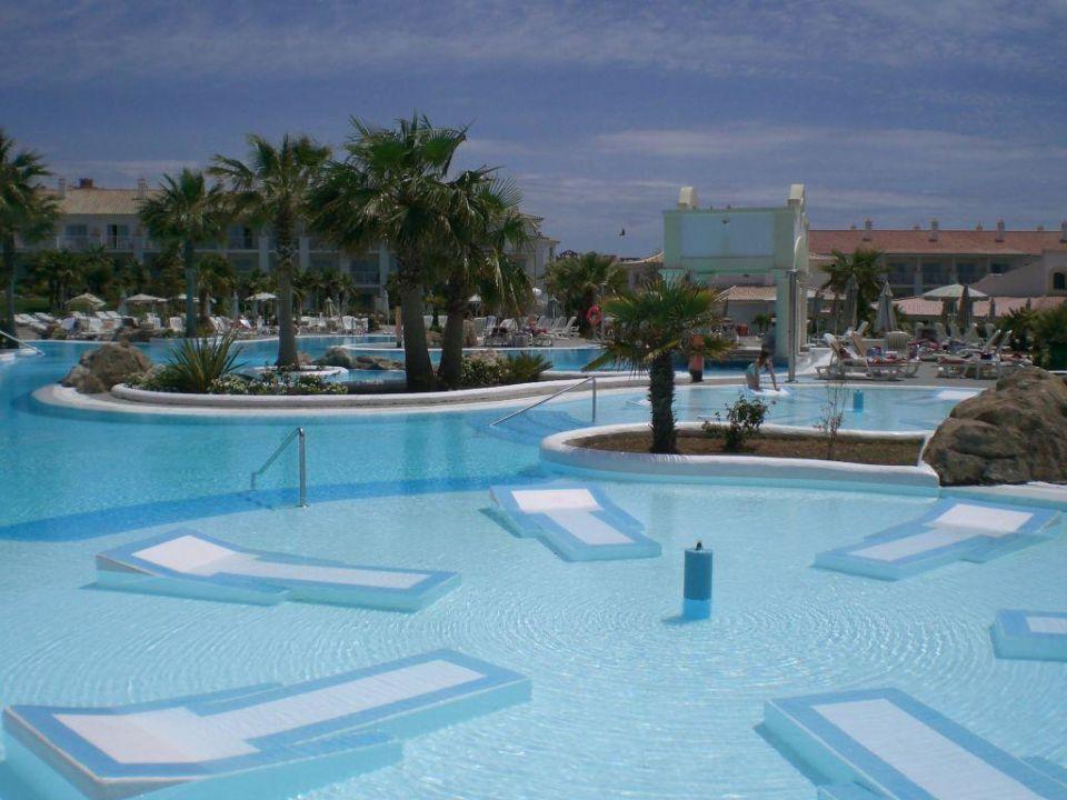 Der obere Pool Hotel Riu Chiclana