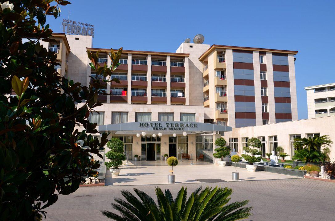 Bild vorderansicht hotel terrace zu hotel terrace beach for What is a hotel terrace