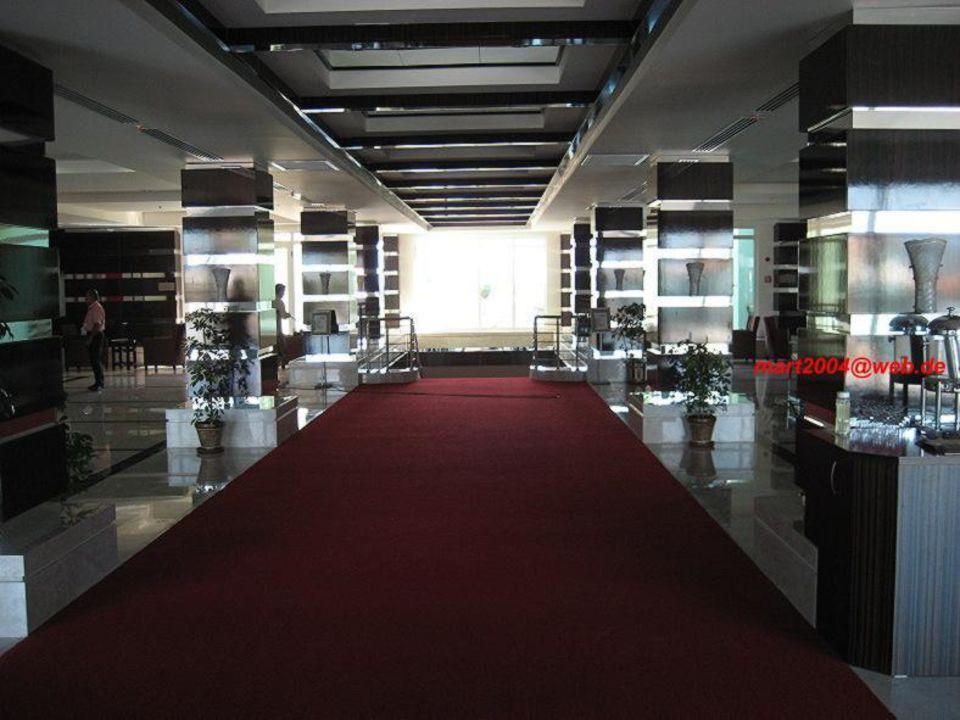 Eingangsbereich Mholiday Hotels Belek (Vorgänger-Hotel - existiert nicht mehr)