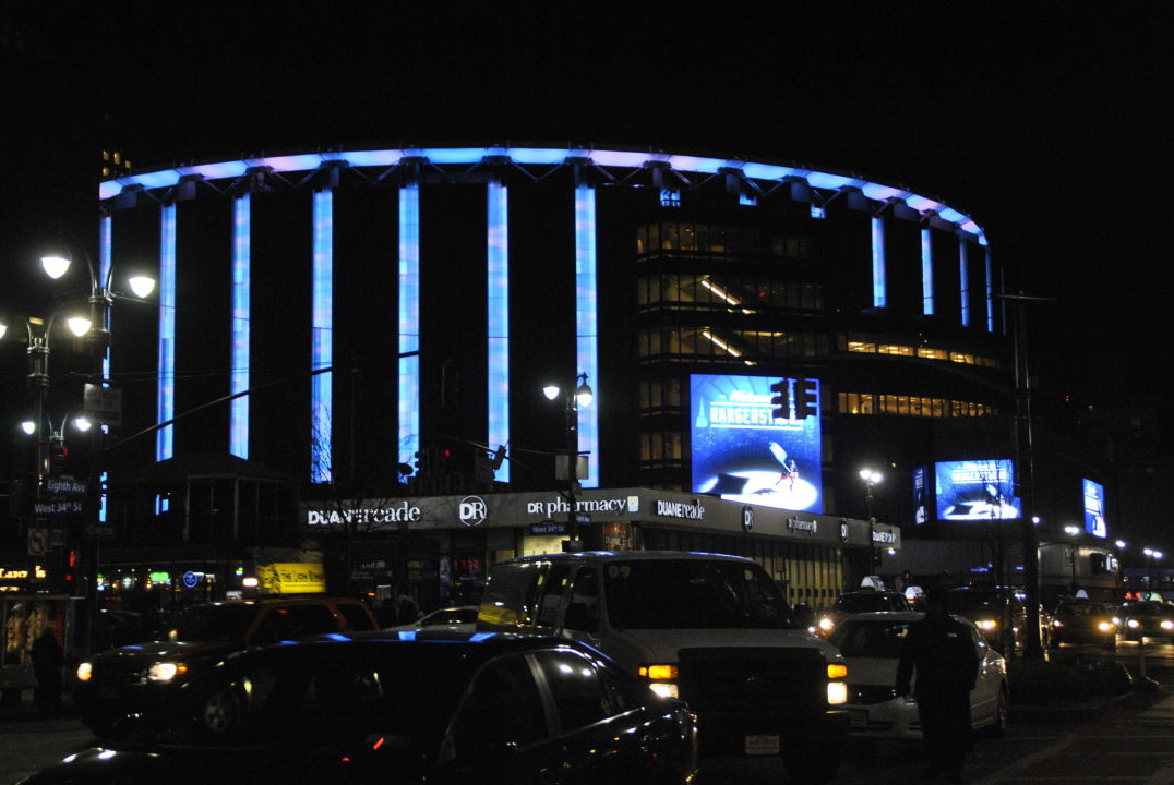 Unmittelbar Neben Madison Square Garden Stadion The New Yorker A