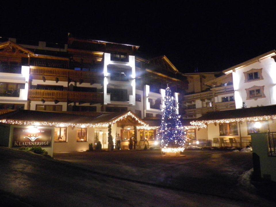 Schöner Rezepionsbereich Hotel Klausnerhof