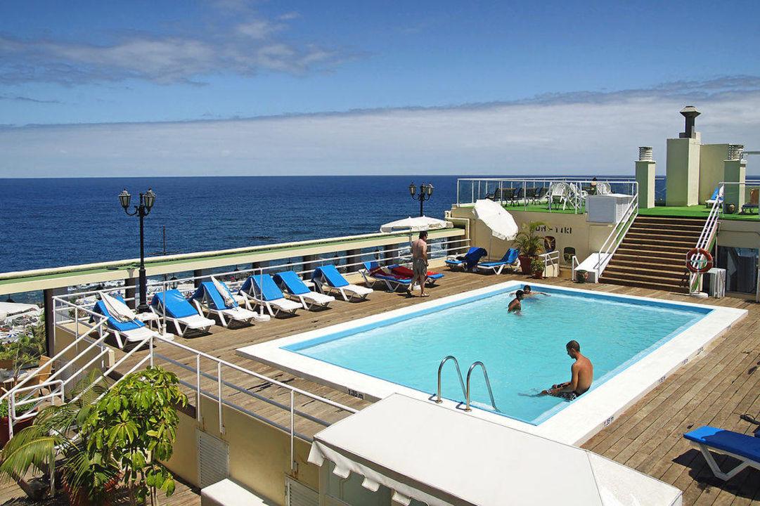 Dach pool hotel vallemar puerto de la cruz holidaycheck teneriffa spanien - Hotel vallemar puerto de la cruz ...