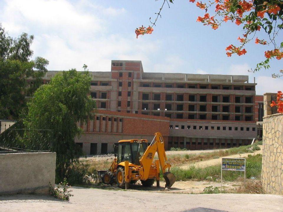 Blick auf das neue Hotel neben Hane Hotel Hane Hotel