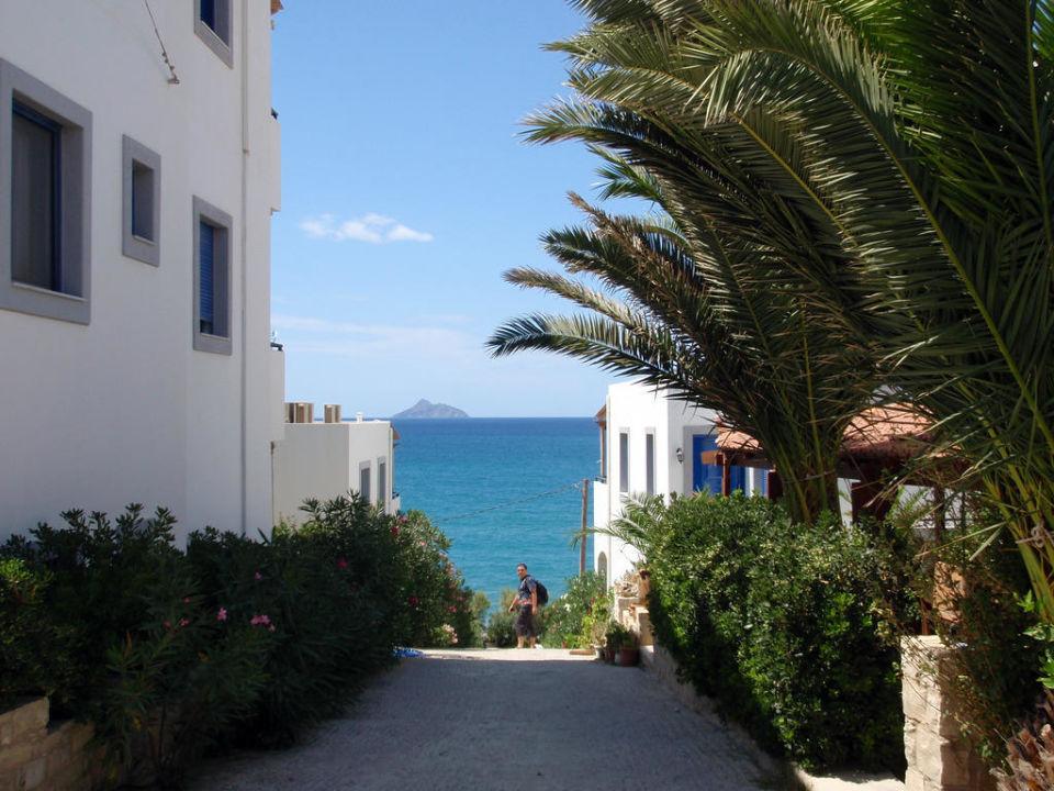 Blick zum Meer Apartments Finikas