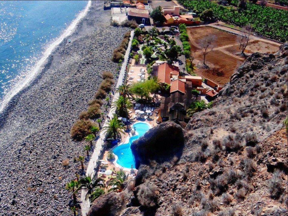 Unterer Bereich Der Poollandschaft Am Strand Hotel Jardin Tecina