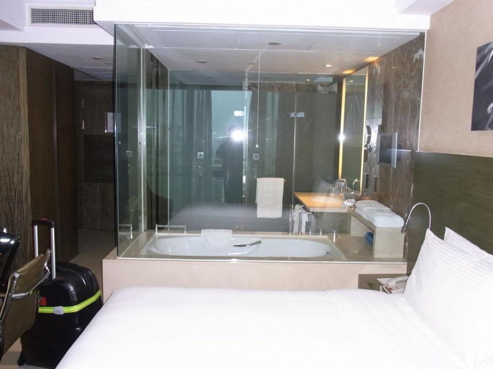 Nice Blick Ins (offene) Badezimmer Hotel The Eton