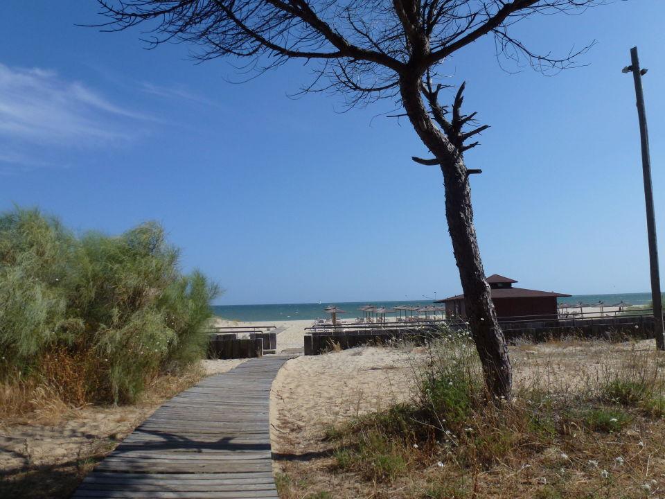 Weg zum Strand TUI SENSIMAR Isla Cristina Palace und Spa
