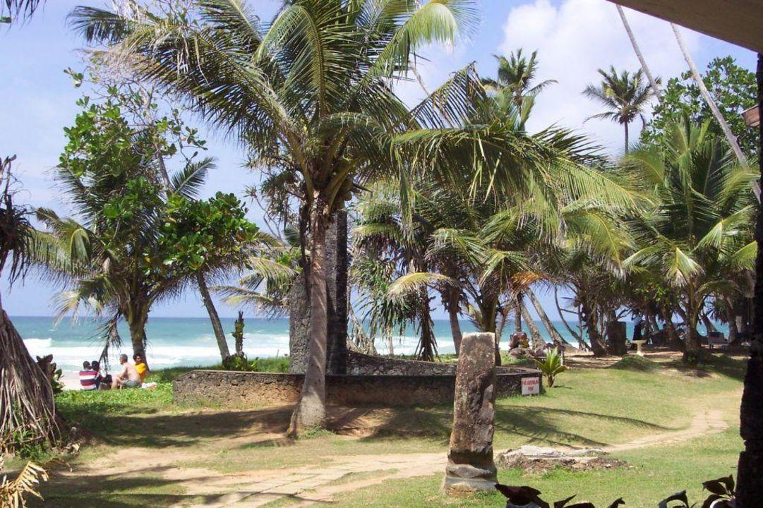 Aussenanlage Hotel Koggala Beach