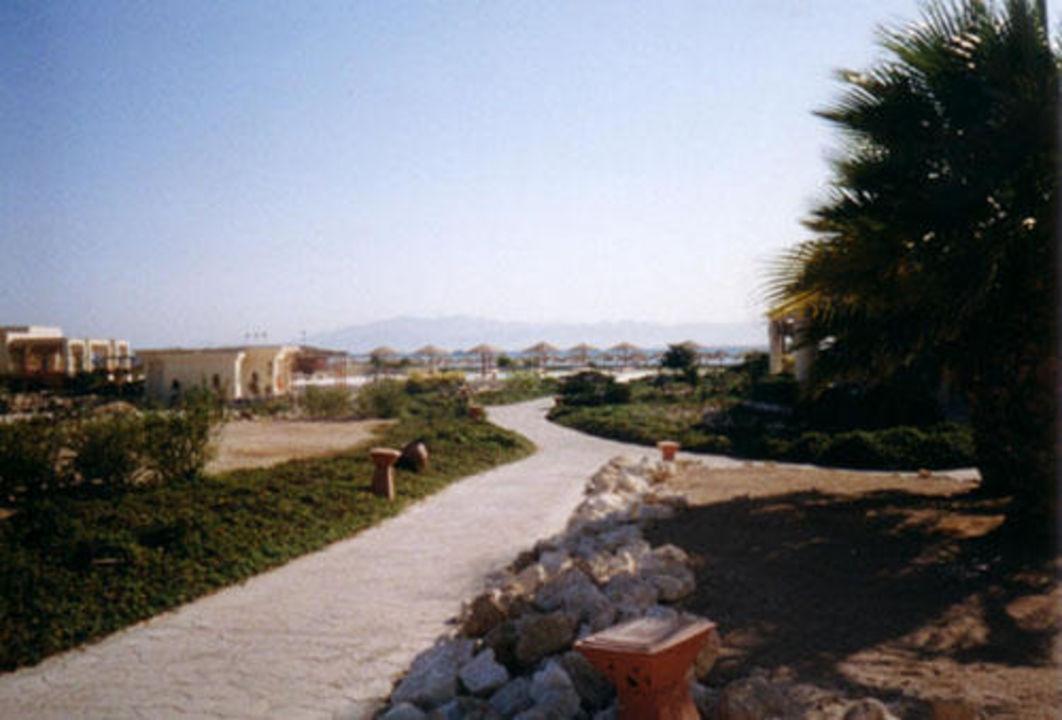 Weg zum Strand Hotel Sheraton Soma Bay Resort