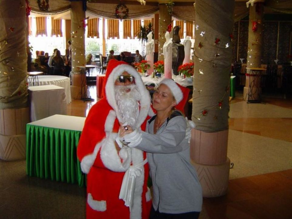 Weihnachten Movie Gate Golden Beach Hurghada