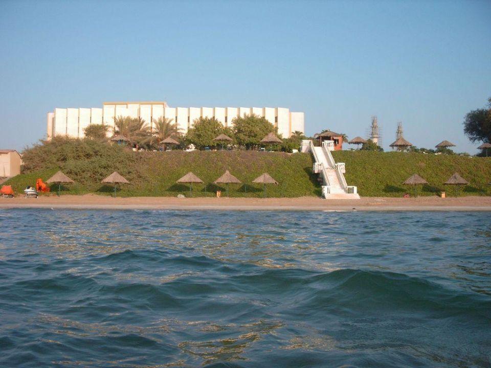 Hotelansicht vom Meer Bin Majid Hotel