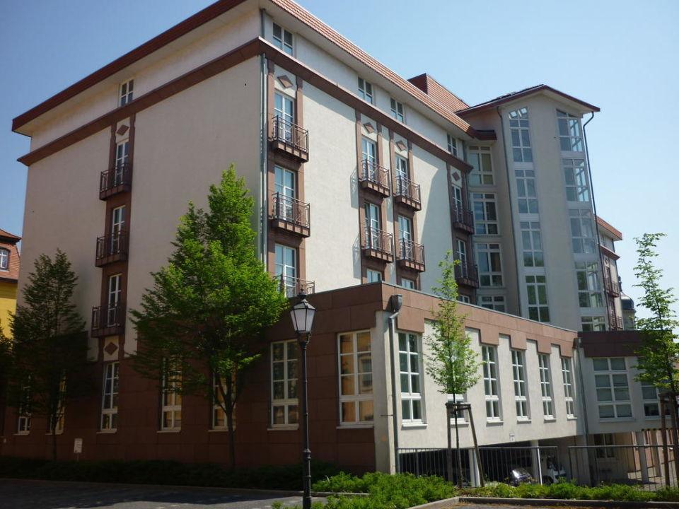 Außenansicht Radisson Blu Hotel Merseburg