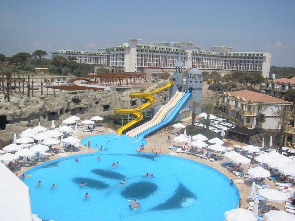 Rutschen-Pool Hotel Cesars Temple DeLuxe Belek