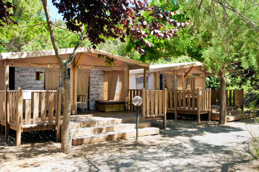 Außenansicht Camping Village Rocchette
