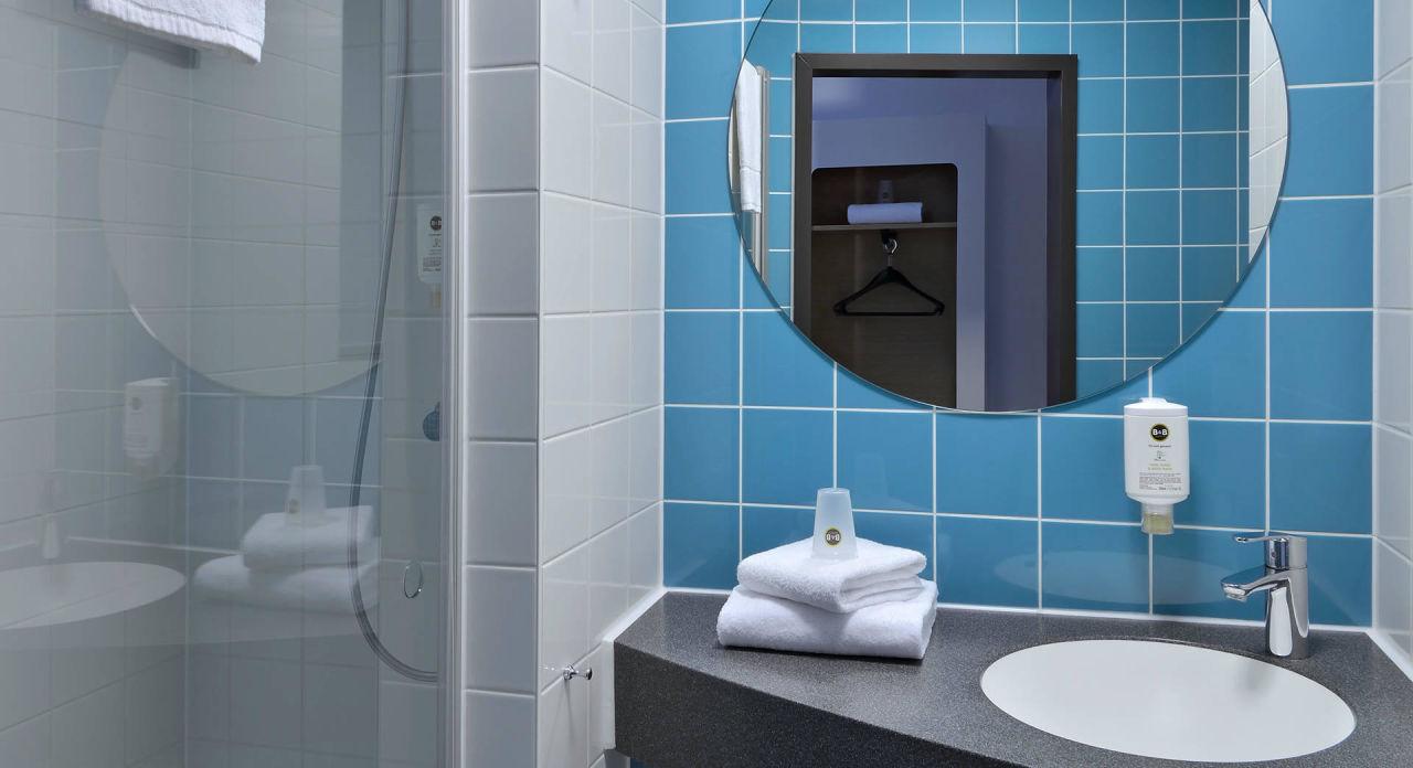 """bild """"badezimmer"""" zu b&b hotel münster-hafen in münster"""