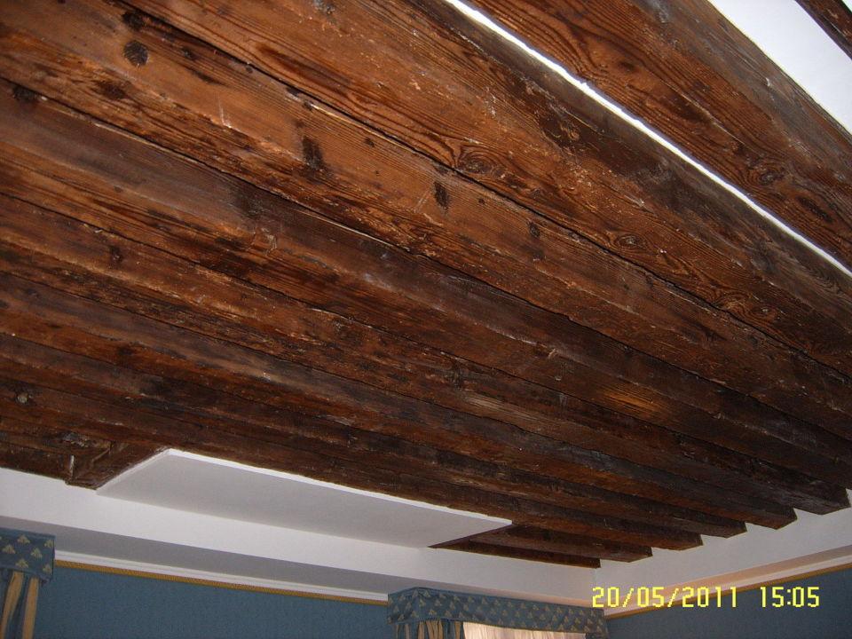 Gut gemocht Rustikale Holzdecke