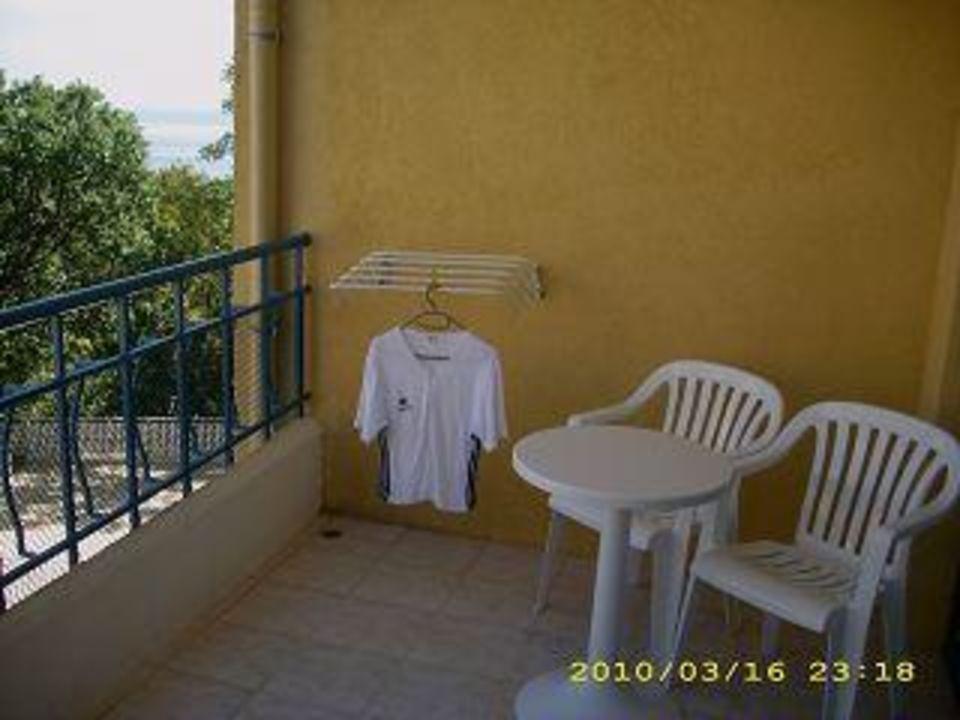Der Balkon! Hotel Grifid Arabella