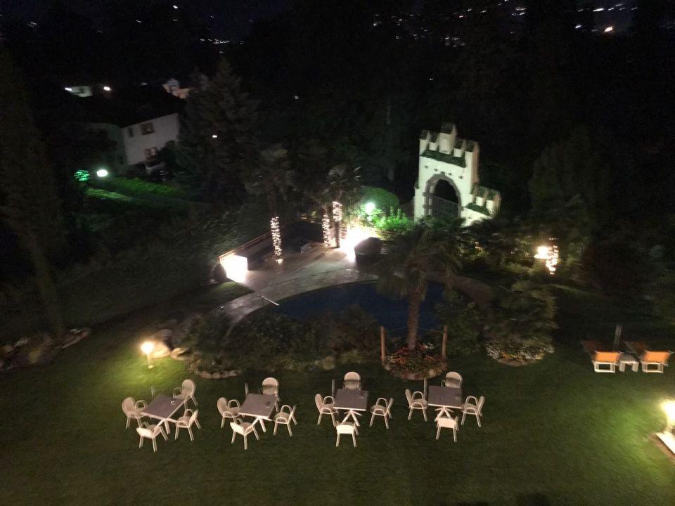 Gartenanlage Hotel Sonnenburg