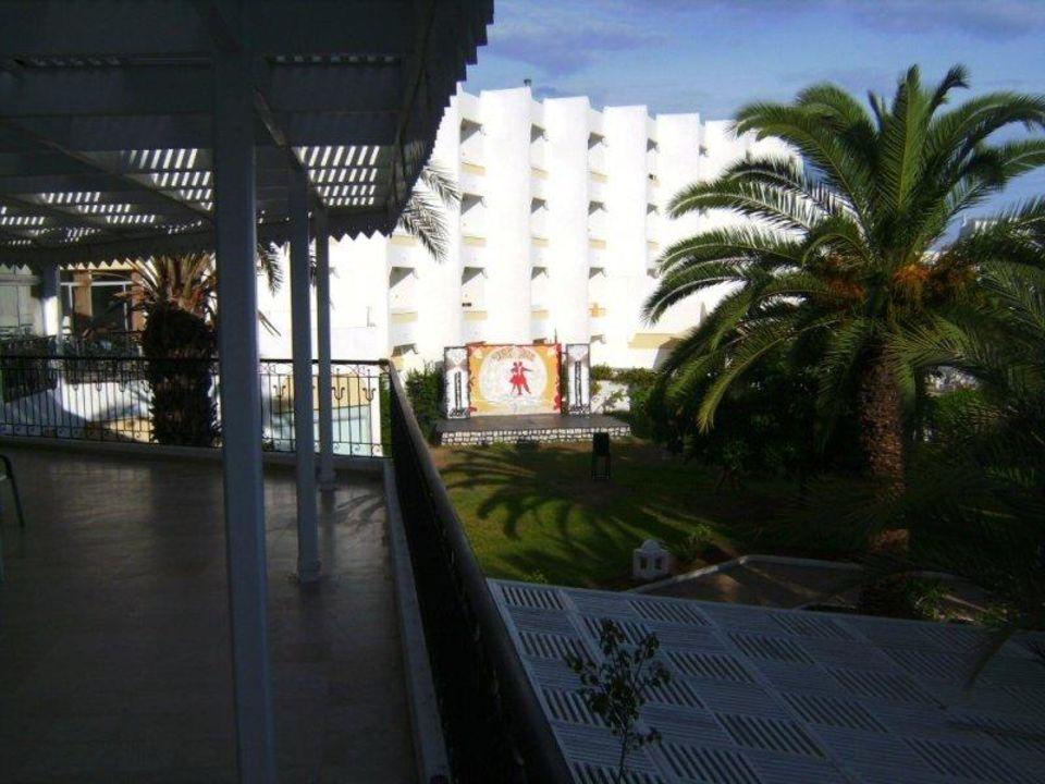 Blick vom Snack-Bereich (Spätfrühstück) Palm Beach Club