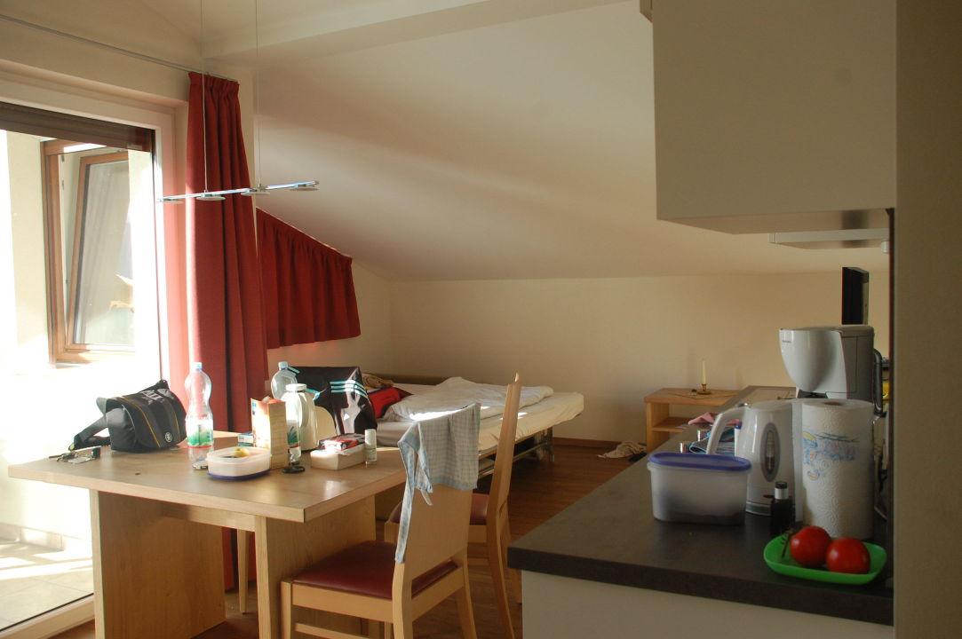 Küchenecke, Schlafgelegenheit Residence Ruprecht