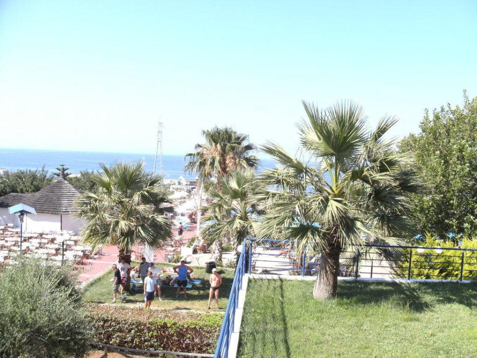 Gartenanlage Hotel Royal Belvedere