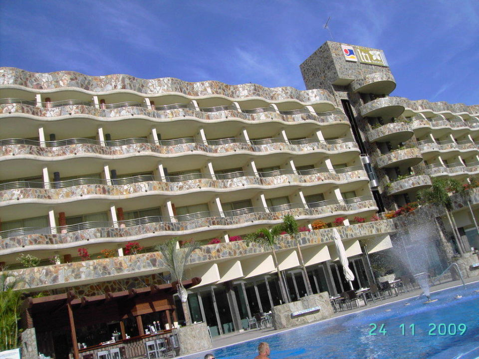 Blick vom Pool Hotel Paradise Valle Taurito