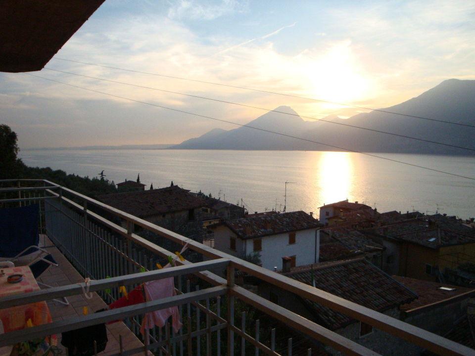 Traumhafter Aus- bzw. Seeblick von unserem Apparte Hotel Pace