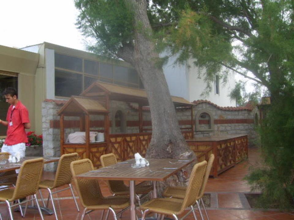 Außenrestaurant Kadikale Resort