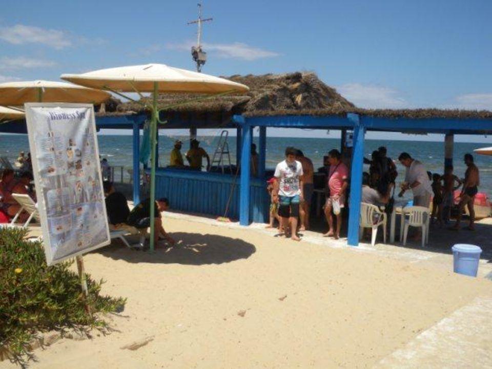 Beach bar Hotel El Mouradi Skanes Beach