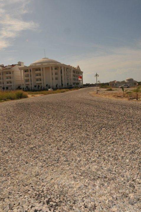 Unsere Weg ist fertig wie versprochen Roma Beach Resort & Spa