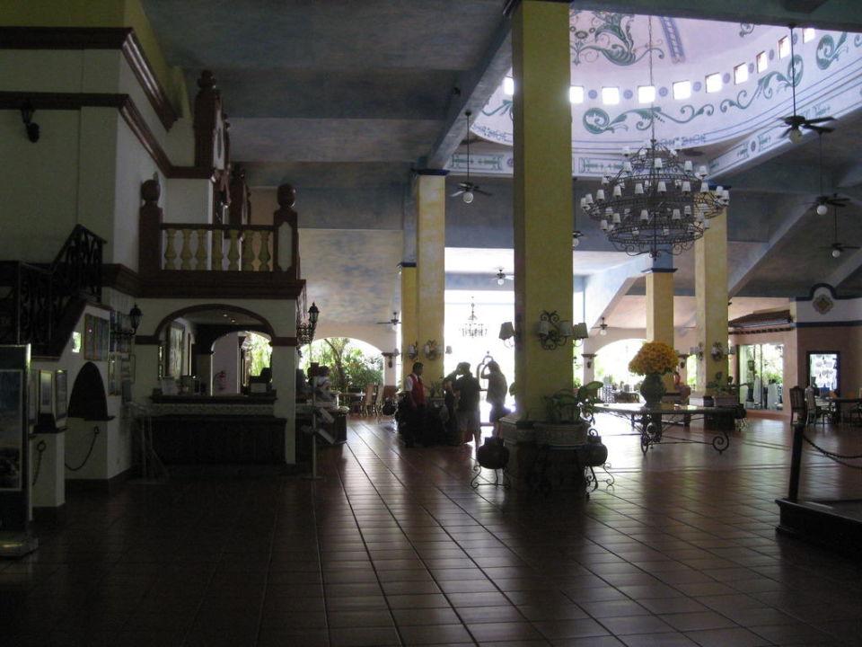 Die Lobbyhalle Hotel Riu Yucatan