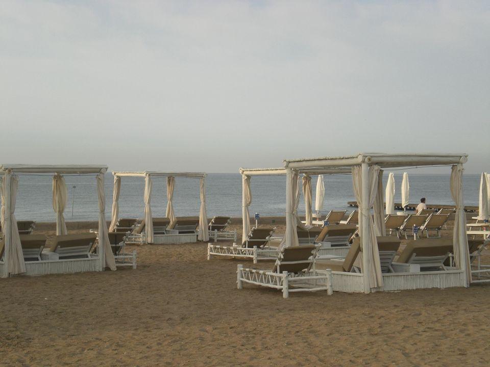 Liegenmöglichkeiten von der Strandbar  Villaggio Amare