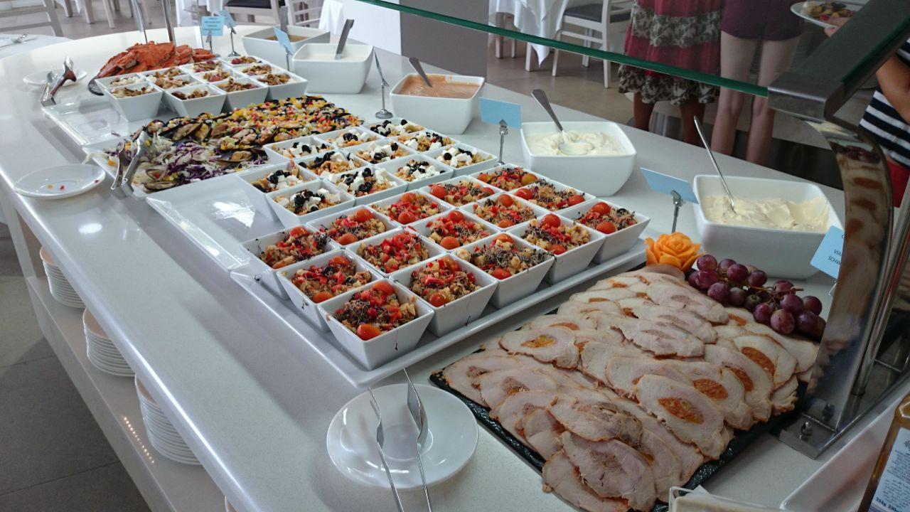 Kalte Gerichte Allsun Hotel Paguera Park Peguera Holidaycheck