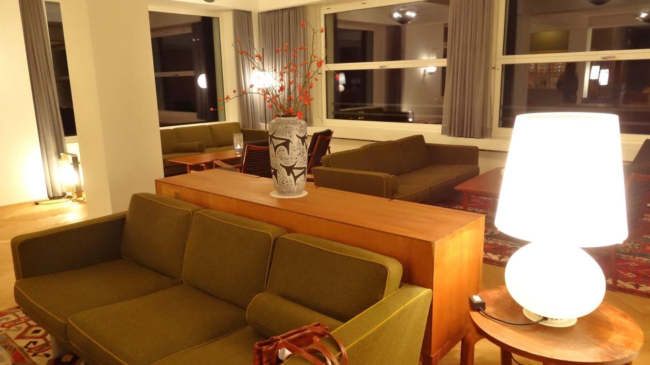 Halle Mit Vintage Möbeln Parkhotel Bellevue Spa Adelboden