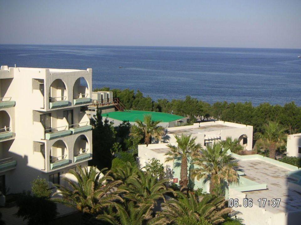 vom Balkon Hotel Louis Colossos Beach (Vorgänger-Hotel – existiert nicht mehr)
