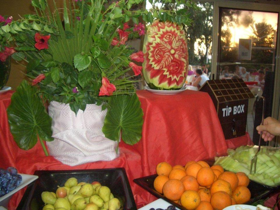 Obst und Deko Side Alegria Hotel & Spa