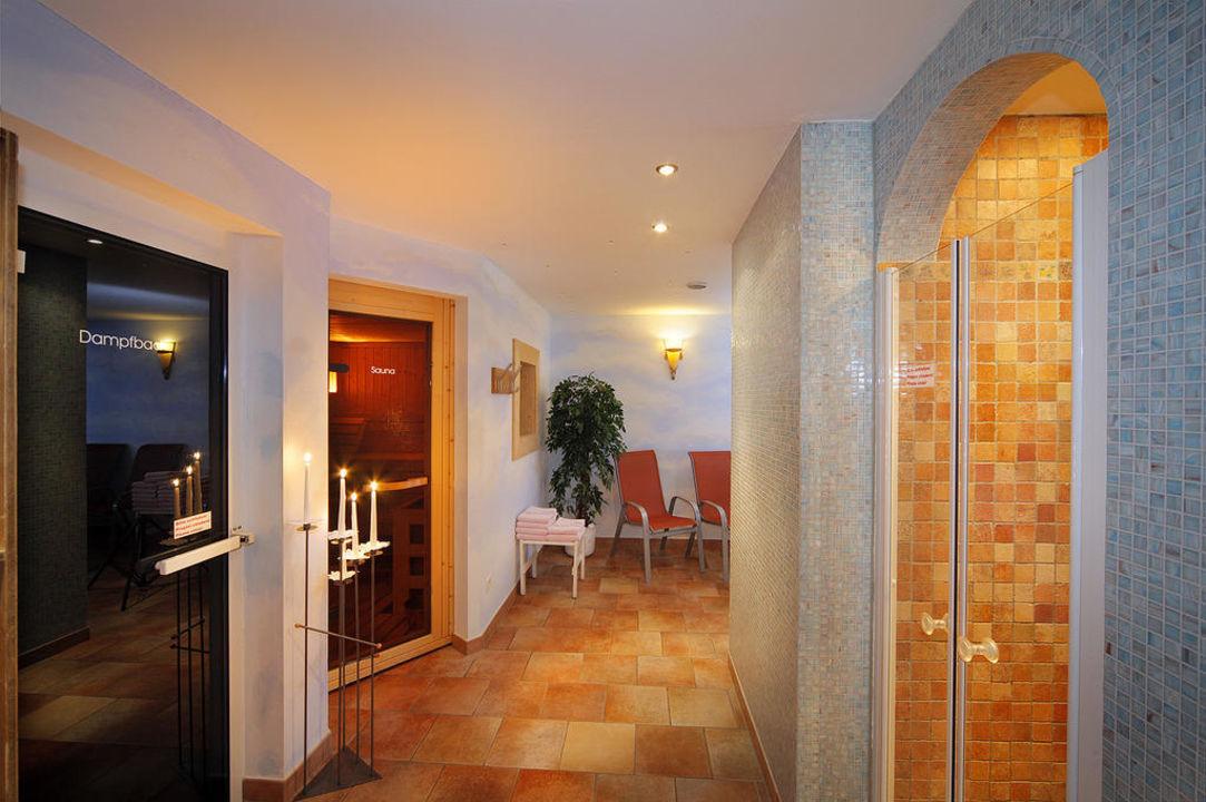 Wellnessbereich Hotel Madatsch